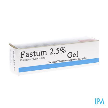 Fastum Gel 2,5% Impexeco Dispenser 120g Pip