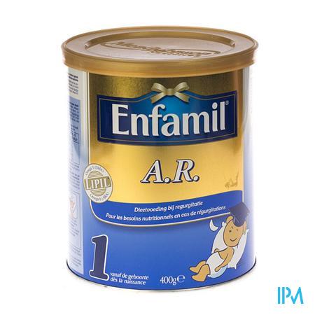 Enfamil AR1 Lipil Zuigeling 0-4M 400 g