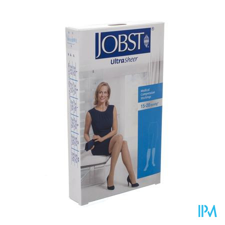 Jobst Ultrasheer Comfort K1 Kniekous Open Teen Natural XL 1 paar