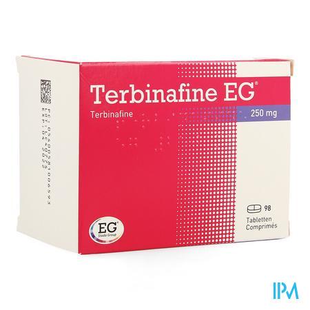 Terbinafine Eg 250mg Eg Tabl 98 X 250mg