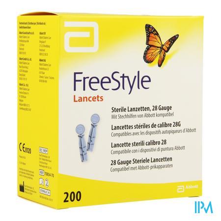 Abbott 200 Lancettes
