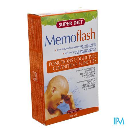 Super Diet Memoflash 20x15 ml ampoules