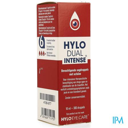 Hylo Dual Intense Gutt Oculaires 10 ml  -  Ursapharm