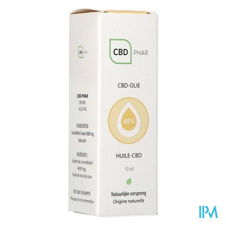 Cbd-olie 40% 10ml Cbd-phar