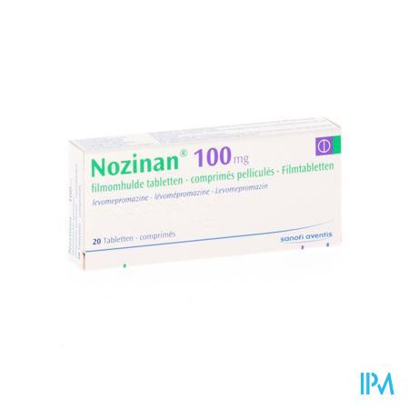Nozinan Comp 20 X 100mg