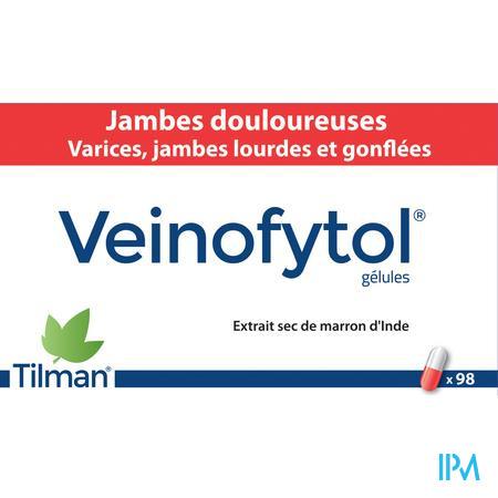 Veinofytol Capsule 98 X 50 mg  -  Tilman