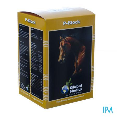 P-Block Paarden Poeder Zakje 10 x 30 g