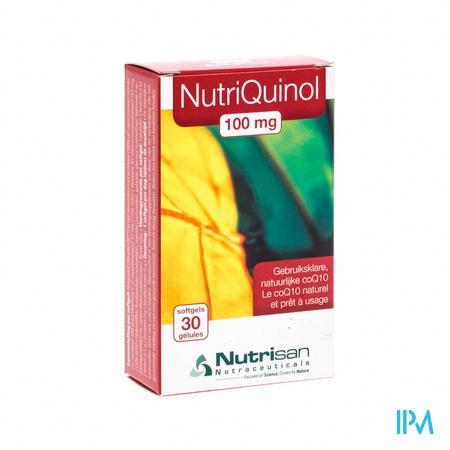 Nutrisan Nutriquinol 100 mg NF 30 capsules