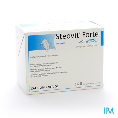 Steovit Forte Orange 1000/880 90 comprimés effervescents