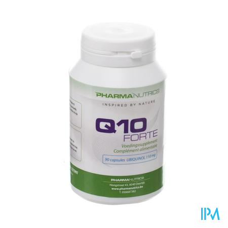Q10 Forte Caps 90x100mg Pharmanutrics