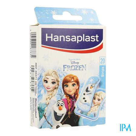 Afbeelding Hansaplast Pleister Junior Frozen 20 Strips.
