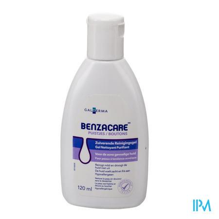 Afbeelding Benzacare Zuiverende Reinigingsgel 120 ml.