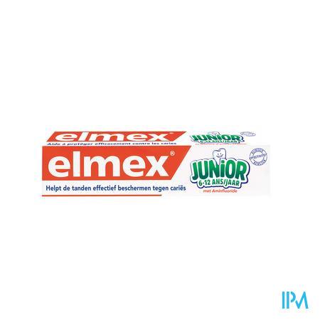 Elmex Junior Tandpasta 6-12 Jaar 75ml