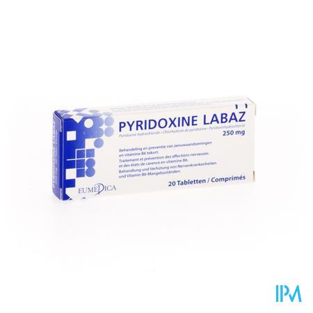 PYRIDOXINE 250MG  20TAB