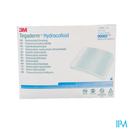Tegaderm Hydrocol.square Ster 100mmx100mm 5 90002