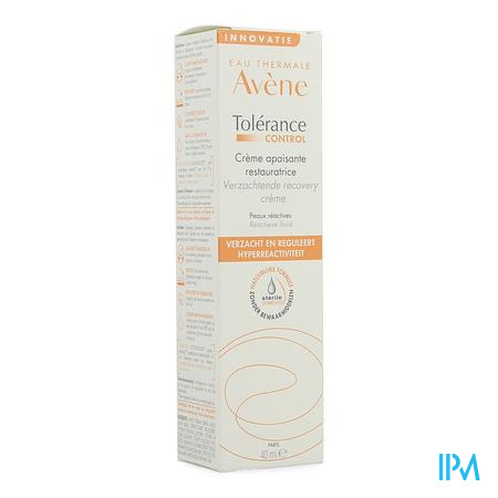 Avene Tolerance Control Creme 40 ml