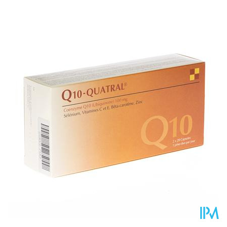 Farmawebshop - Q10 QUATRAL CAPS 2X28