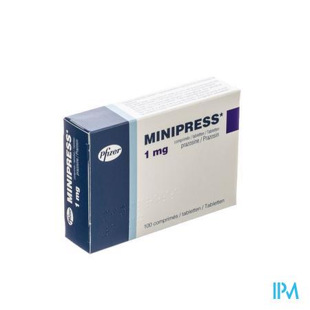 Minipress Comp 100 X 1mg