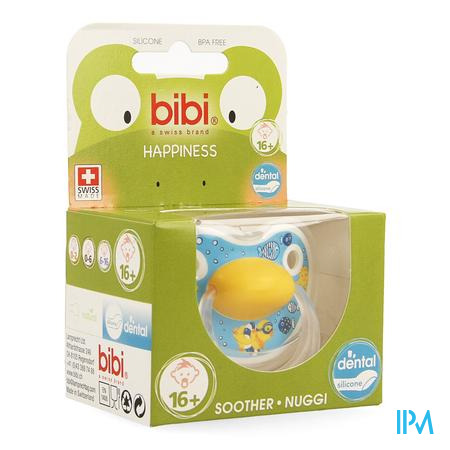 Bibi Fopspeen Hp Dental Birdy +16m