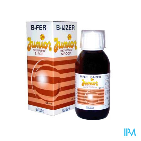 B-IJzer Junior 125 ml siroop