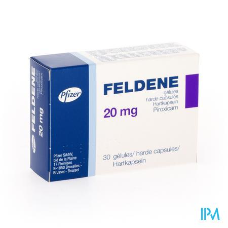 Feldene Caps 30 X 20mg