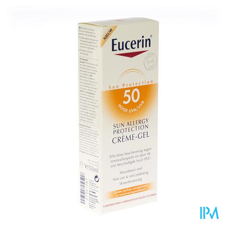Eucerin Sun Allergy Creme-Gel SPF50 150 ml