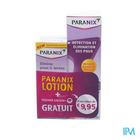 Paranix Duo Lotion + Peigne + Baume 2 x 100 ml
