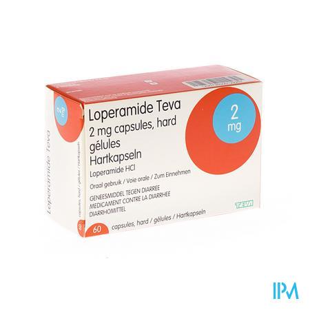 Loperamide Teva Capsule 60 X 2 mg