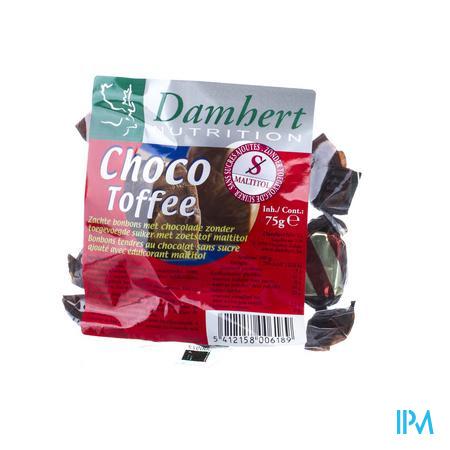 Damhert Chocotoffe Zonder Suiker 75 g