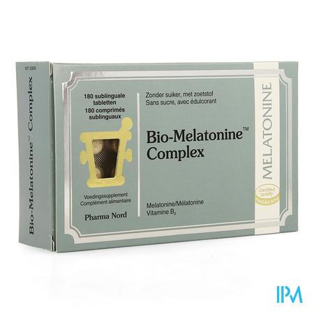 Afbeelding Bio-Melatonine Complex 180 Sublinguale Tabletten.