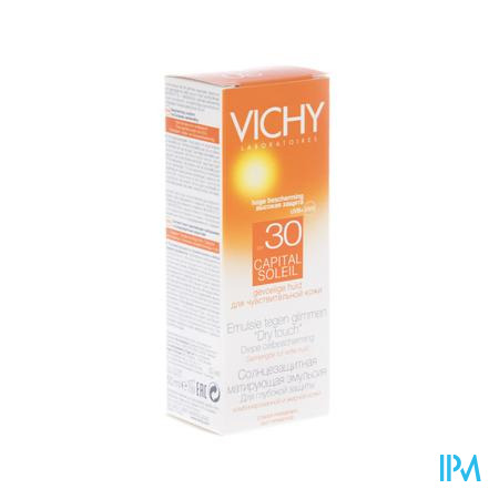 Vichy Capital Soleil Zonnecreme Dry Touch Spf30 50 ml