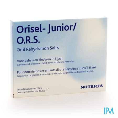 Orisel Junior O.R.S. Poudre 6 x 132 g sachets