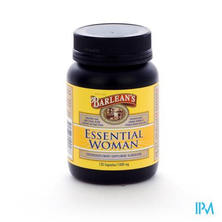 Barlean's Essential Woman 1000mg 120 capsules