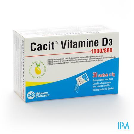 Farmawebshop - CACIT VIT D3 1000/880 30ZAK
