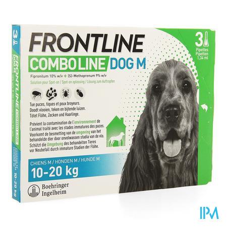 Frontline Combo Line Dog M 10-20kg 3x1,34ml