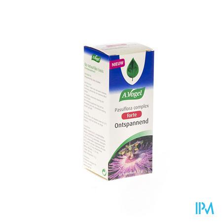 Afbeelding A. Vogel Passiflora Complex Forte Ontspannend 30 Tabletten.