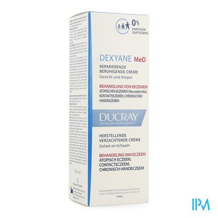 Afbeelding * Ducray Dexyane MeD Herstellende Verzachtende Crème voor Behandeling van Eczeem van Gelaat en Lichaam 100 ml.