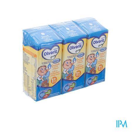 Bambix Lait de Croissance céréale biscuitée 3 x 200 ml