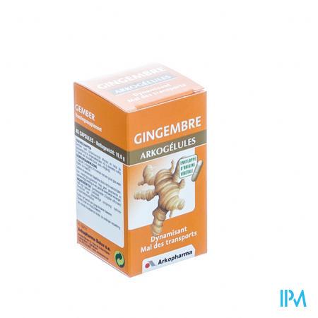 Arkogelules Gingembre Vegetal 45 capsules