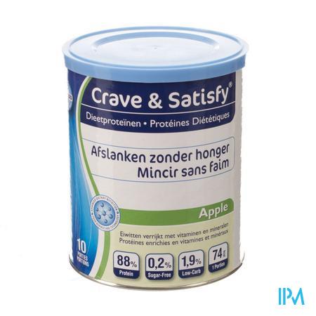 Crave & Satisfy Protéines Diététique Pommes 200 g