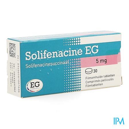 Solifenacine Eg 5mg Filmomh Tabl 30 X 5mg