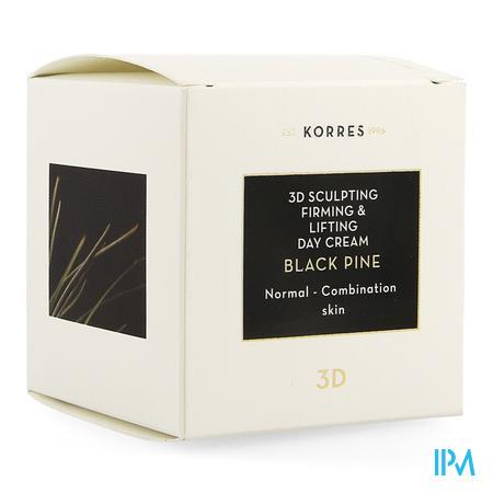 Korres Kf Black Pine 3d Dagcreme Normaal Mix 40ml