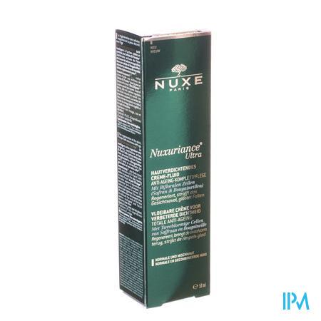 Afbeelding Nuxe Nuxuriance Ultra Vloeibare Crème voor Verbeterde Dichtheid voor Totale Anti-Ageing voor Normale en Gemengde Huid Tube 50 ml.