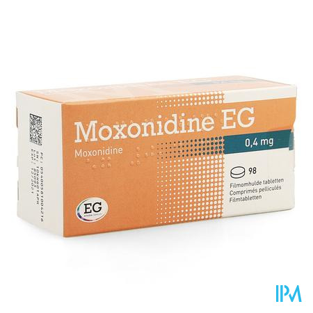 Moxonidine Eg Comp. 98 X 0,4mg