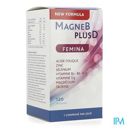 MagneBplusD Femina Tabl 120 Nf