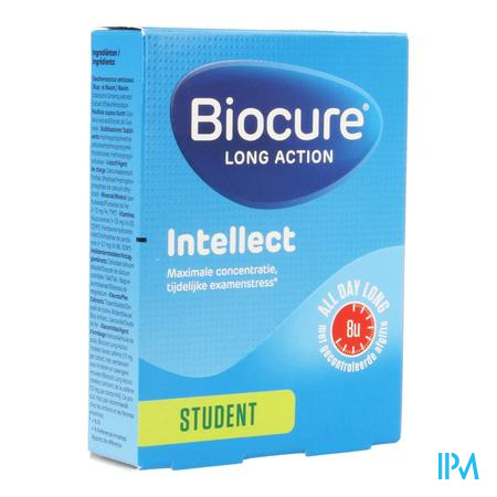 Afbeelding Biocure Long Action Intellect Student 40 Tabletten.