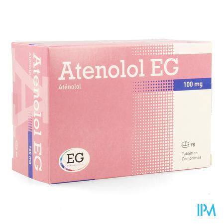 Atenolol Eg Comp 98x100mg