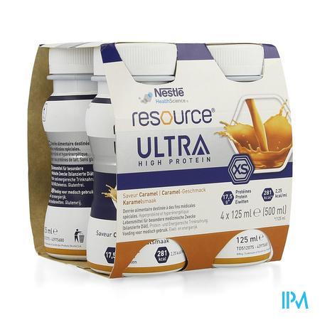 Resource Ultra Caramel 4x125ml