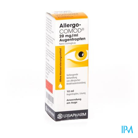 Allergo Comod 2% Collyre 10ml