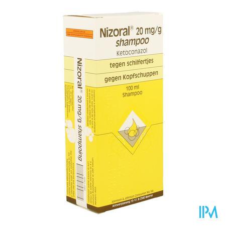 Afbeelding Nizoral Shampoo tegen Schilfertjes 100 ml.